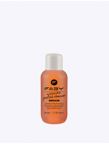 FABY Acetone free polish remover with aloe vera 50ml