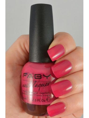 FABY Raspberry jelly - Nagellak