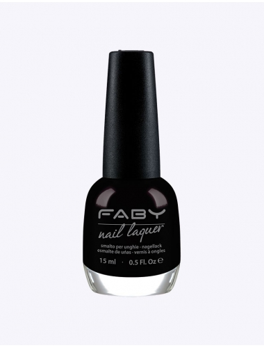 FABY Black is black! - Nagellak
