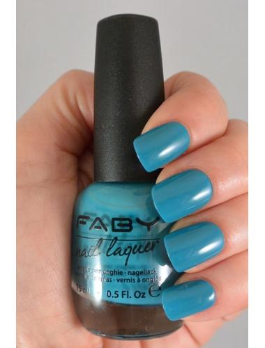 FABY Plastic jewels and neon lights - Nagellak