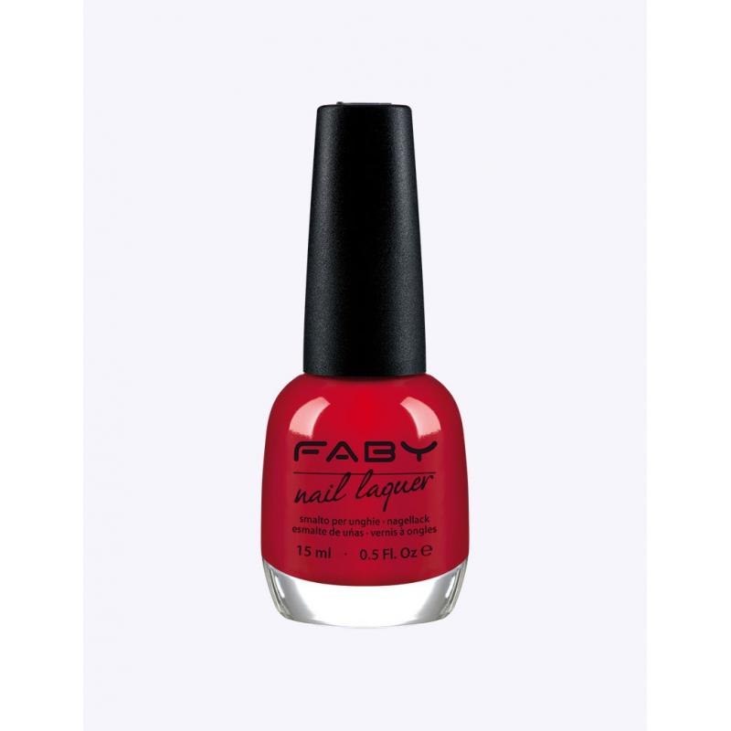 FABY Red hot! - Nagellak
