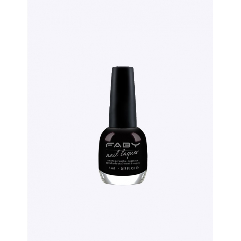 FABY Mini Black is black! - Nagellak